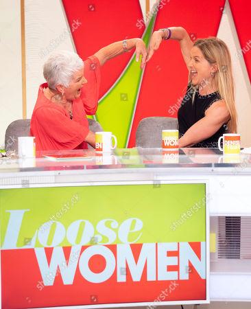 Editorial image of 'Loose Women' TV show, London, UK - 17 May 2018