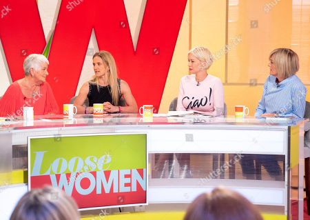 Jean Leadbeater and Kim Leadbeater, Denise Van Outen and Jane Moore