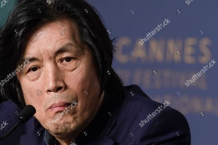 South Korean director Lee Chang-Dong attends the press conference for 'Burning' during the 71st annual Cannes Film Festival, in Cannes, France, 17 May 2018. The movie is presented in the Official Competition of the festival which runs from 08 to 19 May.