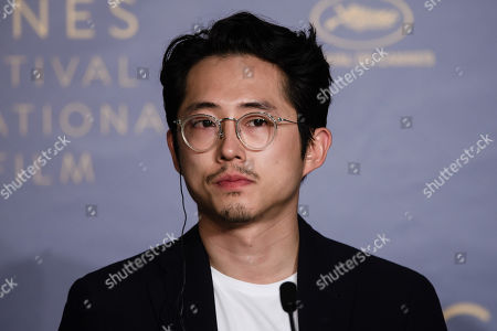 Burning press conference 71st Cannes Film Festival Stock Photos