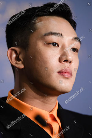 South Korean actor Yoo Ah-In attends the press conference for 'Burning' during the 71st annual Cannes Film Festival, in Cannes, France, 17 May 2018. The movie is presented in the Official Competition of the festival which runs from 08 to 19 May.