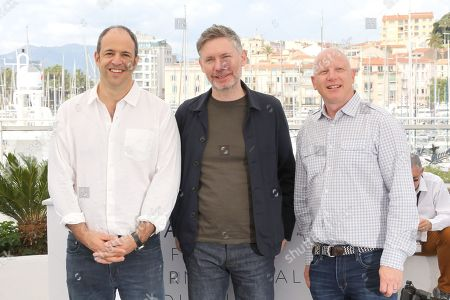 Jonathan Chinn, Kevin MacDonald and Simon Chinn