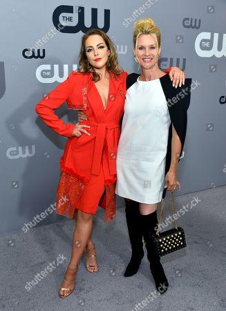 Elizabeth Gillies and Nicollette Sheridan
