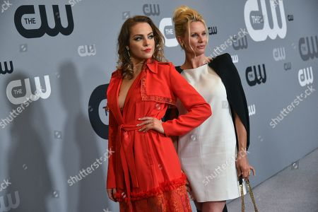 Elizabeth Gillies and Nicollette Sheridan
