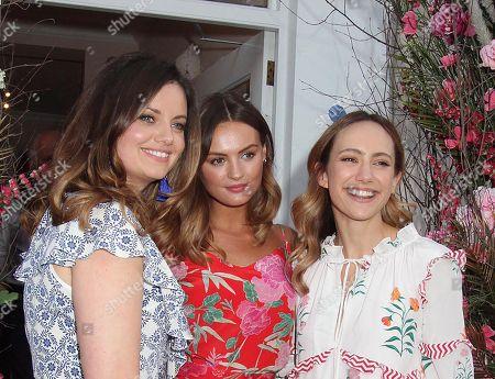 Stock Picture of Lavinia Brennan, Niomi Smart, Lady Natasha Rusfus Isaacs