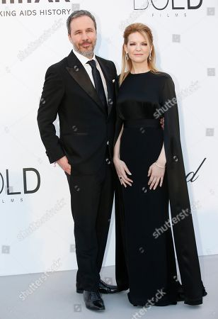 Denis Villeneuve and Tanya Lapointe attend the Cinema Against AIDS amfAR gala 2018 held at the Hotel du Cap, Eden Roc in Cap d'Antibes, France, 17 May 2018, during the 71st annual Cannes Film Festival. The festival runs from 08 to 19 May