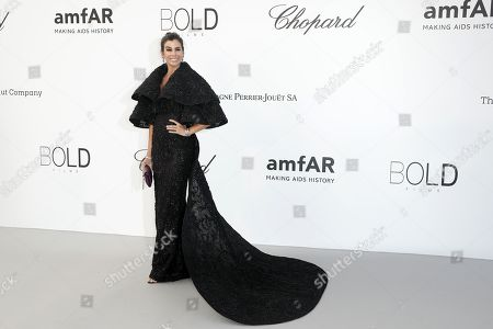 Christina Pitanguy attends the Cinema Against AIDS amfAR gala 2018 held at the Hotel du Cap, Eden Roc in Cap d'Antibes, France, 17 May 2018, during the 71st annual Cannes Film Festival. The festival runs from 08 to 19 May