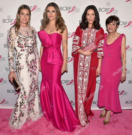 Editorial image of Breast Cancer Research Foundation's The Hot Pink Party: New Depths, Arrivals, New York, USA - 17 May 2018
