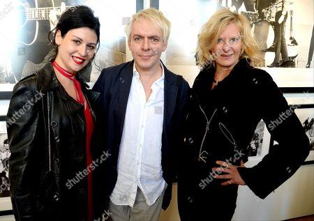 Nefer Suvio, Nick Rhodes and Alison Jackson