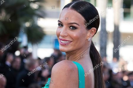 Jade Lagardere poses for photographers upon arrival at the premiere of the film 'Capharnaum' at the 71st international film festival, Cannes, southern France