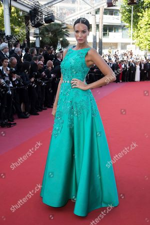 Stock Photo of Jade Lagardere poses for photographers upon arrival at the premiere of the film 'Capharnaum' at the 71st international film festival, Cannes, southern France