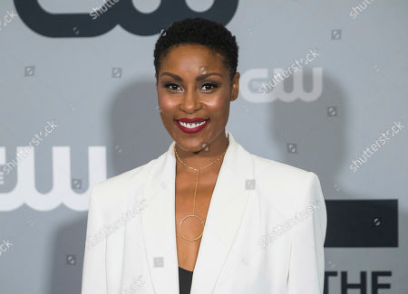 Christine Adams attends The CW Network 2018 Upfront at The London NYC, in New York