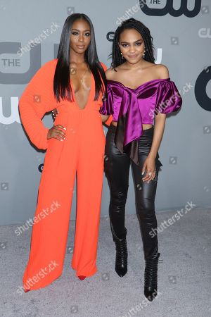 Nafessa Williams and China Anne McClain