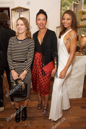 Editorial image of Jessica McCormack and Carolyn Hodler event, London, UK - 17 May 2018