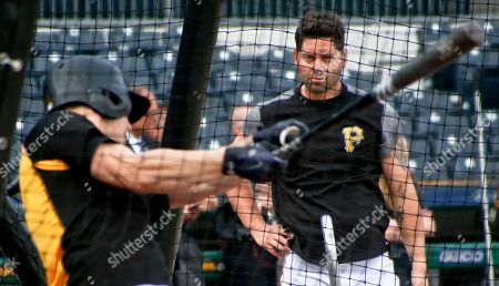Editorial picture of Padres Pirates Baseball, Pittsburgh, USA - 17 May 2018