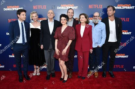 Jason Bateman, Portia de Rossi, Jeffrey Tambor, Alia Shawkat, Tony Hale, Jessica Walter and Will Arnett