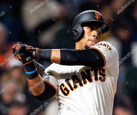 Editorial picture of MLB Rockies vs Giants, San Francisco, USA - 17 May 2018