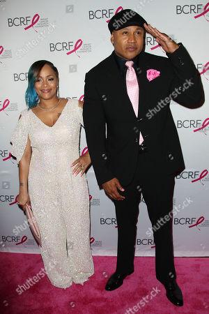 Simone Smith and LL Cool J