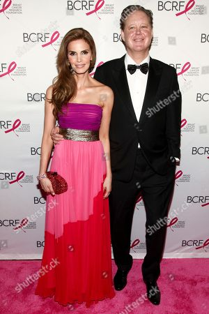 Amy France, Brian France. Amy France, left, and Brian France, right, attend the Breast Cancer Research Foundation's The Hot Pink Party at the Park Avenue Armory, in New York