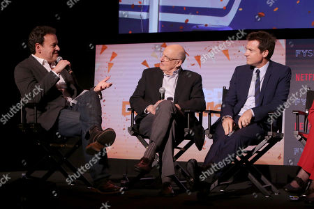 Stock Picture of Mitchell Hurwitz, Executive Producer, Jeffrey Tambor, Jason Bateman