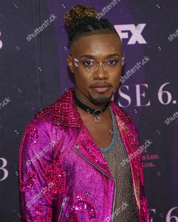 """Consultant Twiggy Pucci Garcon attends the premiere of FX's """"Pose"""" at the Hammerstein Ballroom, in New York"""
