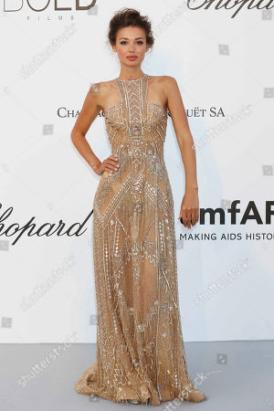 Editorial image of amfAR's 25th Cinema Against AIDS Gala, Arrivals, 71st Cannes Film Festival, France - 17 May 2018