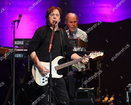 Editorial image of The Doobie Brothers performs at The Coral Sky Amphitheatre, West Palm Beach, Florida, USA - 17 May 2018