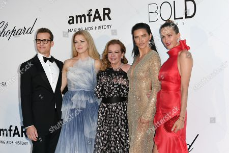 Gabriel Macht, Jacinda Barrett, Caroline Scheufele, Adriana Lima, Petra Nemcova