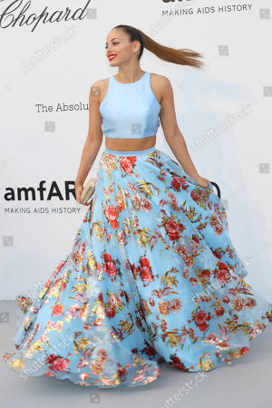 Editorial picture of amfAR's 25th Cinema Against AIDS Gala, Arrivals, 71st Cannes Film Festival, France - 17 May 2018