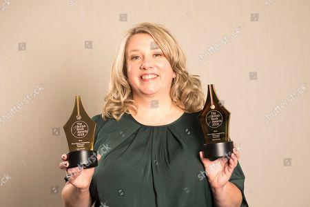 Gail Honeyman holds two British Book Awards
