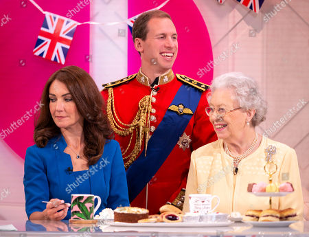 Stock Picture of Heidi Agan - Kate, Tom Moore - William and Mary Reynolds - The Queen