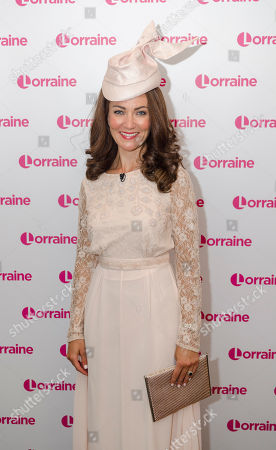 Editorial picture of 'Lorraine' TV show, London, UK - 18 May 2018