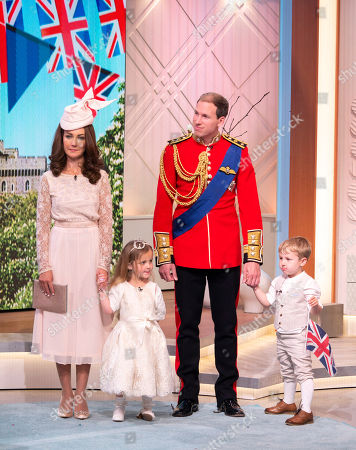 Editorial image of 'Lorraine' TV show, London, UK - 18 May 2018