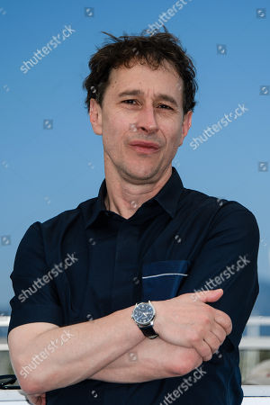 Bertrand Bonello poses during a photocall at the 71st annual Cannes Film Festival, in Cannes, France, 18 May 2018.
