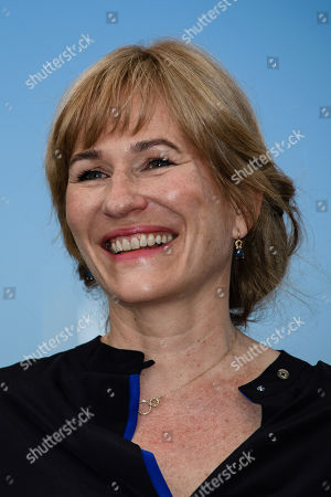 Stock Image of Valeska Grisebach poses during a photocall at the 71st annual Cannes Film Festival, in Cannes, France, 18 May 2018.