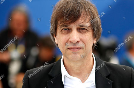 Russian director Sergey Dvortsevoy poses during the photocall for 'Ayka' at the 71st annual Cannes Film Festival, in Cannes, France, 18 May 2018. The movie is presented in the Official Competition of the festival which runs from 08 to 19 May.