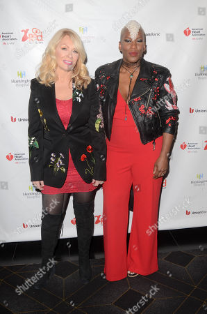 Stock Photo of Nancy Wilson and Liv Warfield