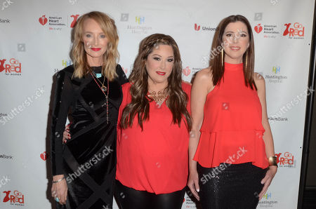 Chynna Phillips, Carnie Wilson and Wendy Wilson