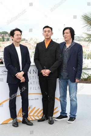 Director Chang-dong Lee, Yoo Ah-In, Steven Yeun