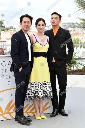 Jun Jong-Seo, Yoo Ah-In, Steven Yeun