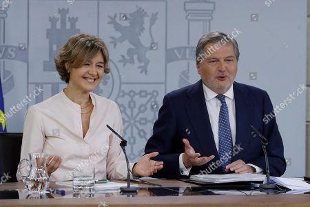 Inigo Mendez de Vigo and Isabel Garcia Tejerina