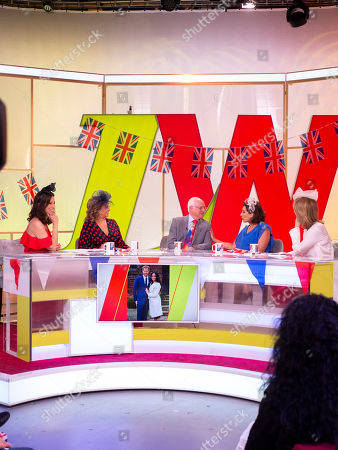 Andrea McLean, Nadia Sawalha, Dickie Arbiter, Saira Khan and Kaye Adams