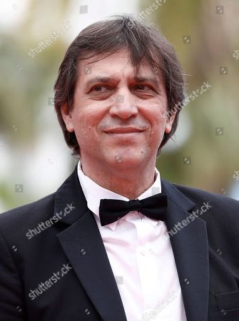 Stock Image of Director Sergey Dvortsevoy arrives for the screening of 'Ayka' during the 71st annual Cannes Film Festival, in Cannes, France, 18 May 2018. The movie is presented in the Official Competition of the festival which runs from 08 to 19 May.