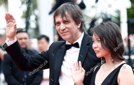 Stock Photo of Director Sergey Dvortsevoy and actress Samal Yeslyamova arrive for the screening of 'Ayka' during the 71st annual Cannes Film Festival, in Cannes, France, 18 May 2018. The movie is presented in the Official Competition of the festival which runs from 08 to 19 May.