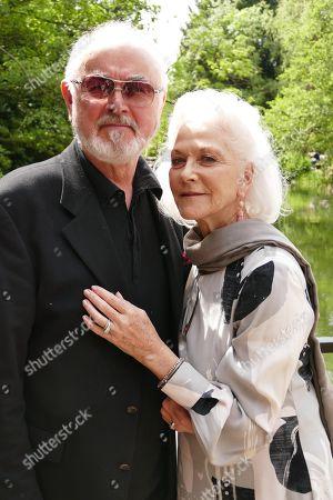 Stock Image of Peter Egan & Linda Thorson