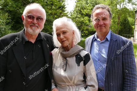 Stock Photo of Peter Egan, Linda Thorson and Andrew Wincott