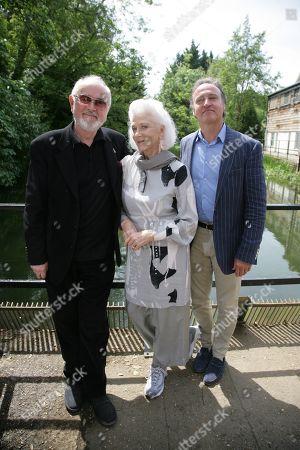 Peter Egan, Linda Thorson and Andrew Wincott