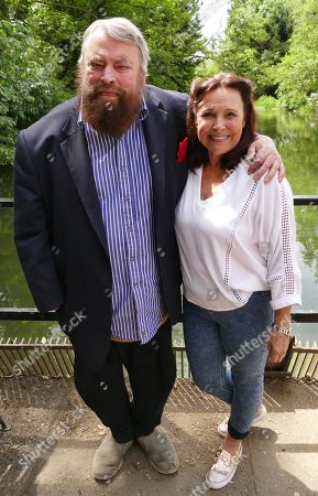 Stock Image of Brian Blessed and Diane Keen