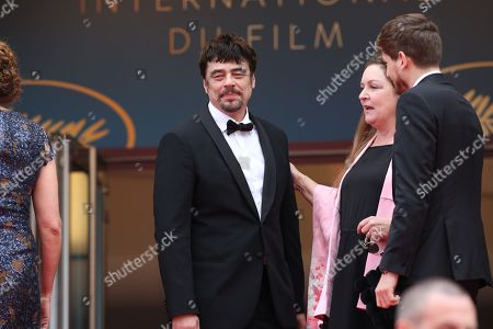 Kantemir Balagov, Julie Huntsinger, Benicio Del Toro with Annemarie Jacir and Virginie Ledoyen