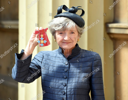 Stock Picture of Julia McKenzie during an Investitures Ceremony at Buckingham Palace in London.